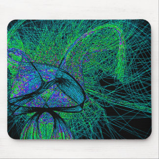 70's shroom love mouse pad