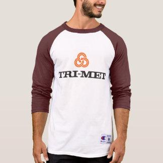 70s TriMet Baseball Throwback T-Shirt