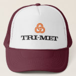 "70s TriMet Throwback Trucker Hat<br><div class=""desc"">Our logo from the early 70s,  still on point.</div>"