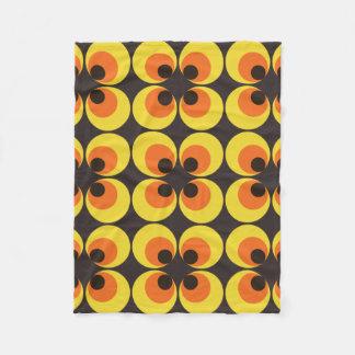70s Wallpaper Fleece Blanket