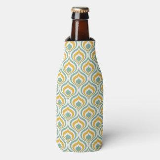 70's Wallpaper Pattern Bottle Cooler