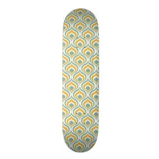 70's Wallpaper Pattern Skateboard