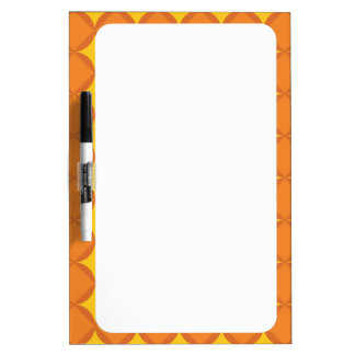 70's year styling circle dry erase board