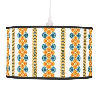 70s years circle rows ceiling lamp
