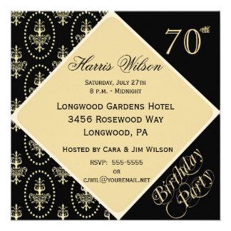 70th-79th Birthday Invitations