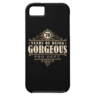 70th Birthday (70 Years Of Being Gorgeous) iPhone SE/5/5s Case