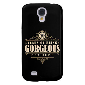 70th Birthday (70 Years Of Being Gorgeous) Samsung Galaxy S4 Case