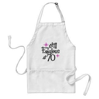 70th Birthday Adult Apron