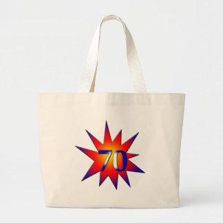 70th Birthday Bag