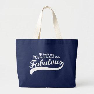 70th Birthday Bags