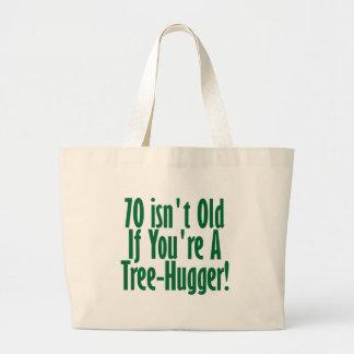 70th Birthday Canvas Bags