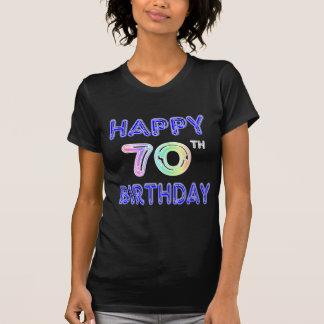 70th Birthday Balloon Font T-Shirt