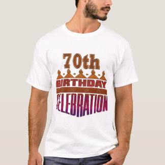 70th Birthday Celebration Gifts T-Shirt