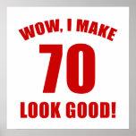 70th Birthday Gag Gift (r) Poster