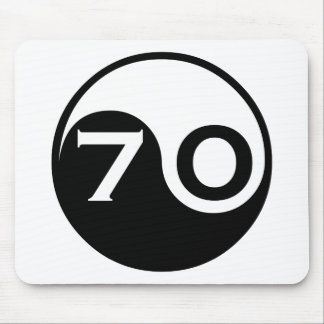 70th Birthday Gifts Mouse Pad