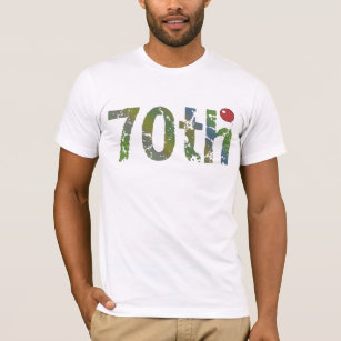 70th Birthday Gifts T Shirt