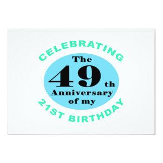 70th Birthday Humor Card