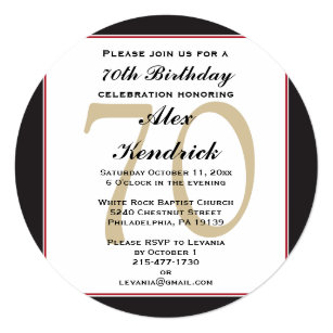 70th birthday invitations zazzle 70th birthday invitation filmwisefo