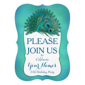 70th Birthday Invitations Personalized Invitation