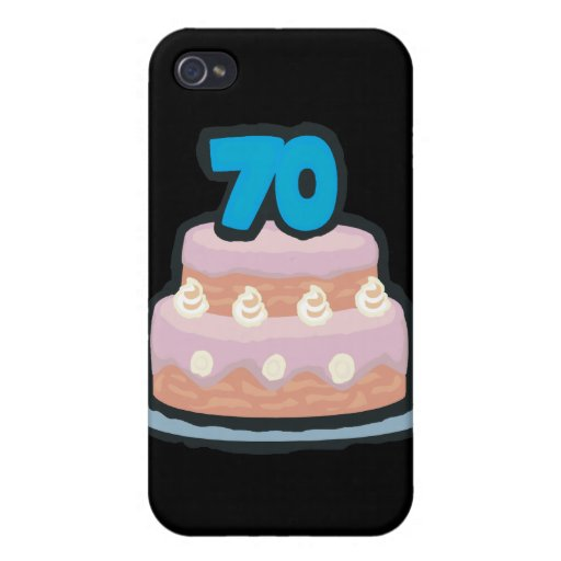70th Birthday iPhone 4 Covers