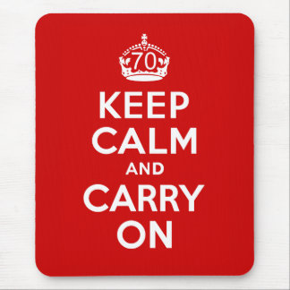 70th Birthday Mouse Pad