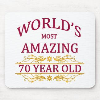 70th. Birthday Mouse Pad