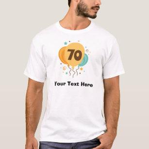 70th Birthday Party Gift Idea T Shirt