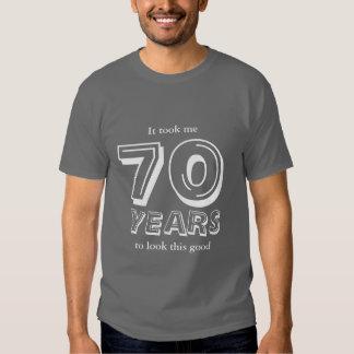 70th Birthday shirt   Customizable