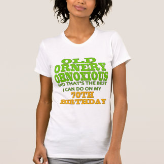 70th Birthday T-shirts and Gifts