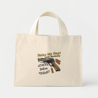 70th Birthday T-shirts and Gifts Mini Tote Bag