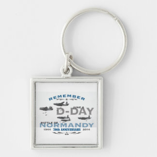 70th D-Day Air Battle of Normandy Anniversary Keychain