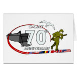 70th D-Day anniversary Greeting Card