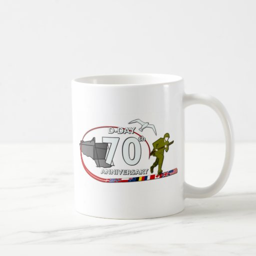70th D-Day anniversary Coffee Mugs