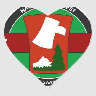 "70TH INFANTRY DIVISION ""TRAILBLAZER"" HEART STICKER"