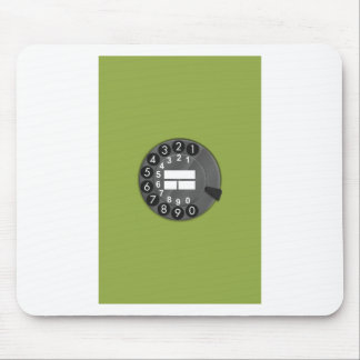 70th rotary dial phone mouse pads