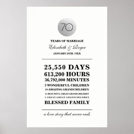 70th Wedding Anniversary.70th Wedding Anniversary Custom Prints