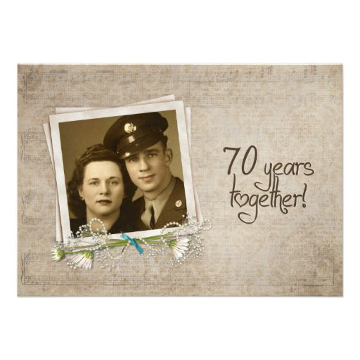 70th Anniversary Wedding Gift Ideas : 70th Wedding Anniversary Open House 5
