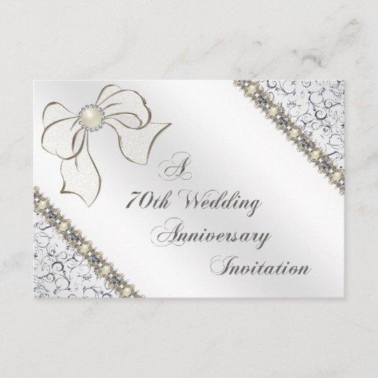 70th Wedding Anniversary.70th Wedding Anniversary Rsvp Card
