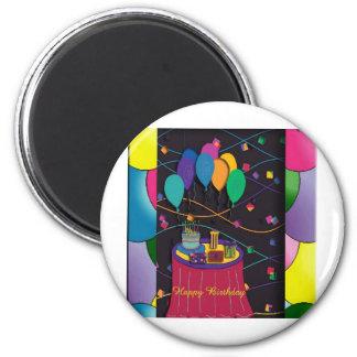 70thsurprisepartyyinvitationballoons copy 2 inch round magnet