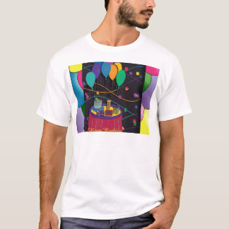 70thsurprisepartyyinvitationballoons copy T-Shirt