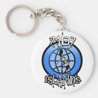 7107 Islands Philippines Keychain