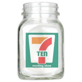 710 Morning Show Men's Tee Trucker Hat Mason Jar