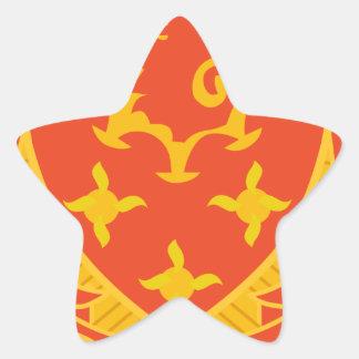 711o Maint. Batallón Pegatina En Forma De Estrella