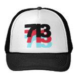 713 Area Code Hat