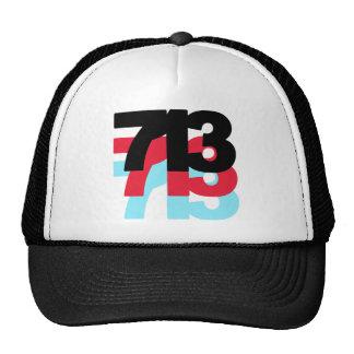 713 Area Code Trucker Hat
