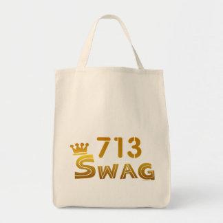 713 Texas Swag Canvas Bag