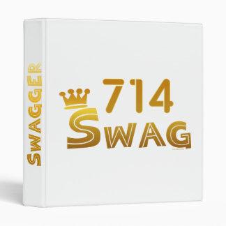 714 California Swag Binder
