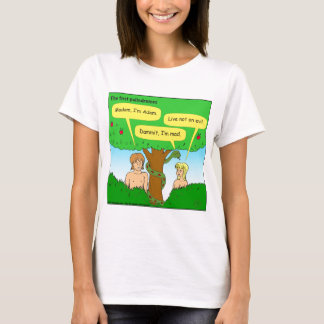 715 adam and eve palindromes cartoon T-Shirt