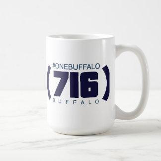 (716) Buffalo, #OneBuffalo Coffee Mug