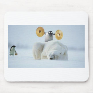 717-fool-pinguin mouse pad